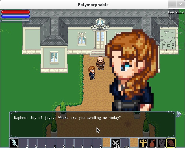 Screenshot of Polymorphable